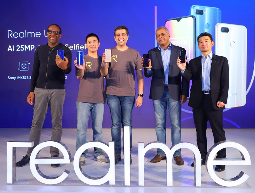 realme U1 launched as 'AI 25MP SelfiePro', powered by Helio P70 and a 25 MP front camera; Price starts from INR 11,999/-